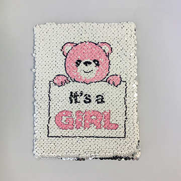 Gender Reveal Card Girl